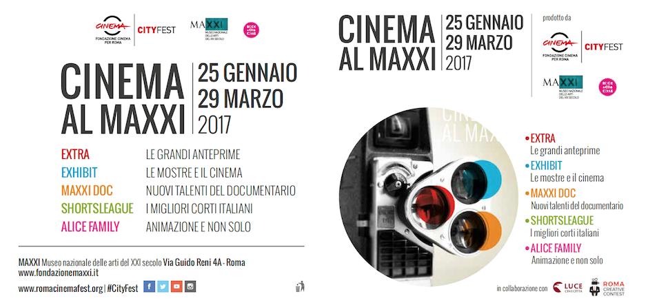 Cinema al MAXXI, programma
