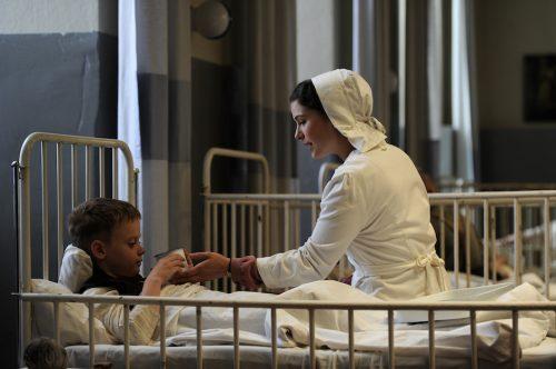 ebbia in Agosto, infermiera