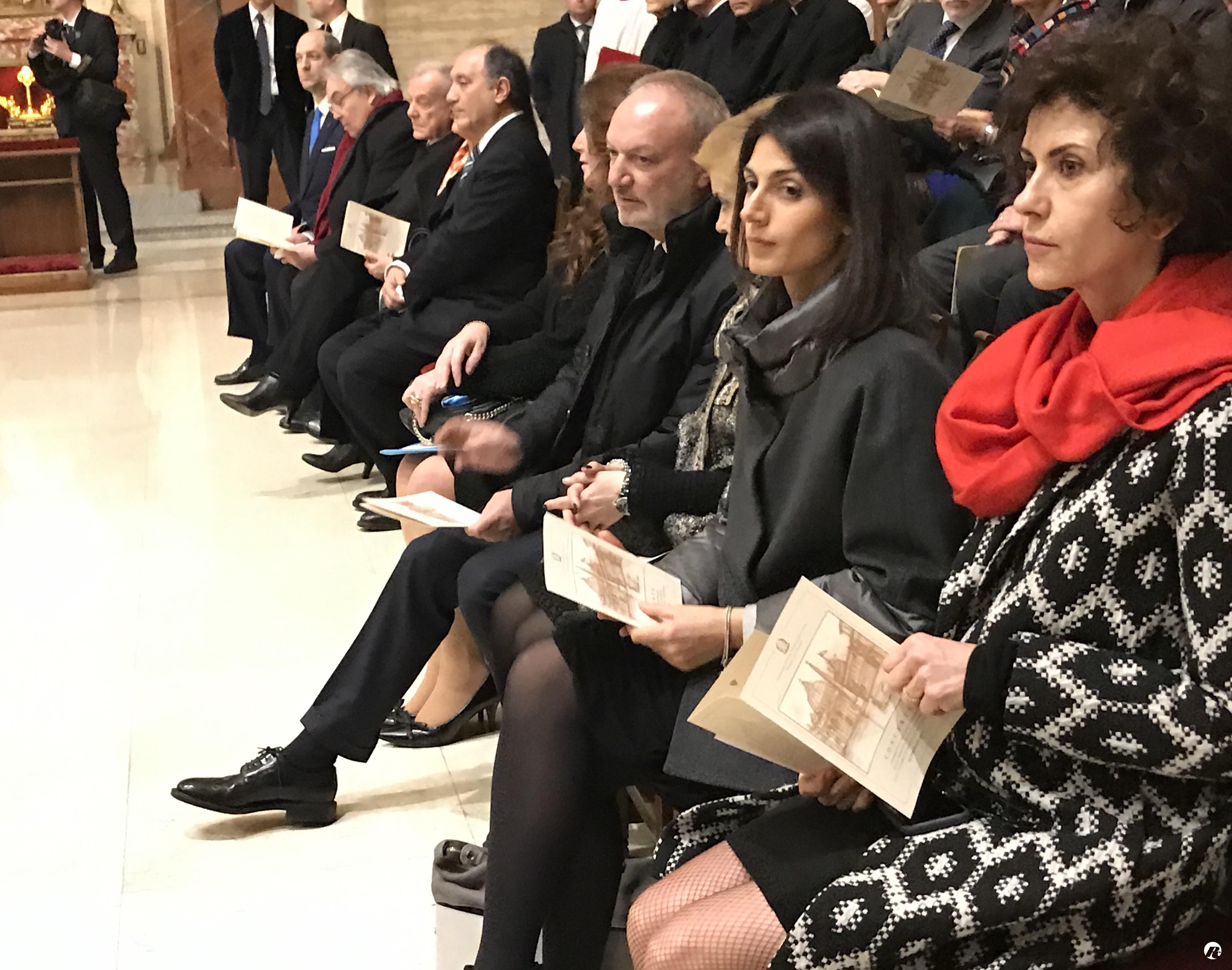La sindaca Raggi al concerto per i Patti Lateranensi