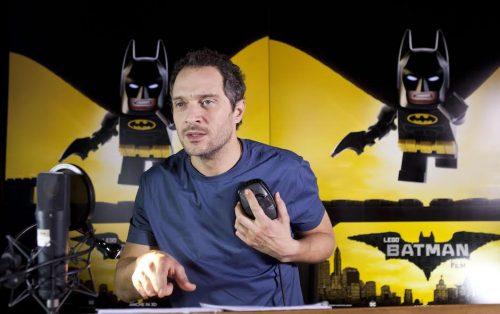 Lego Batman - Il Film, Claudio Santamaria doppia Batman
