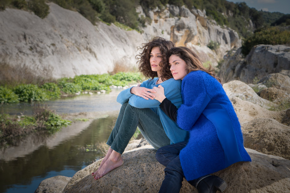 Le Sorelle protagoniste della fiction Ana Caterina Morariu e Anna Valle (foto Ralph Palka - DSC01843-Bearbeitet)