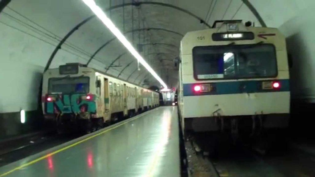 Deraglia treno, paura sulla Roma-Viterbo