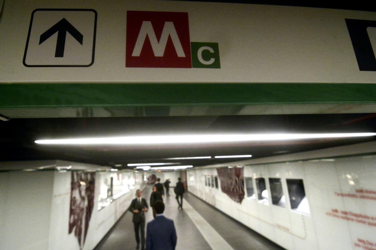 metro C a San Giovanni