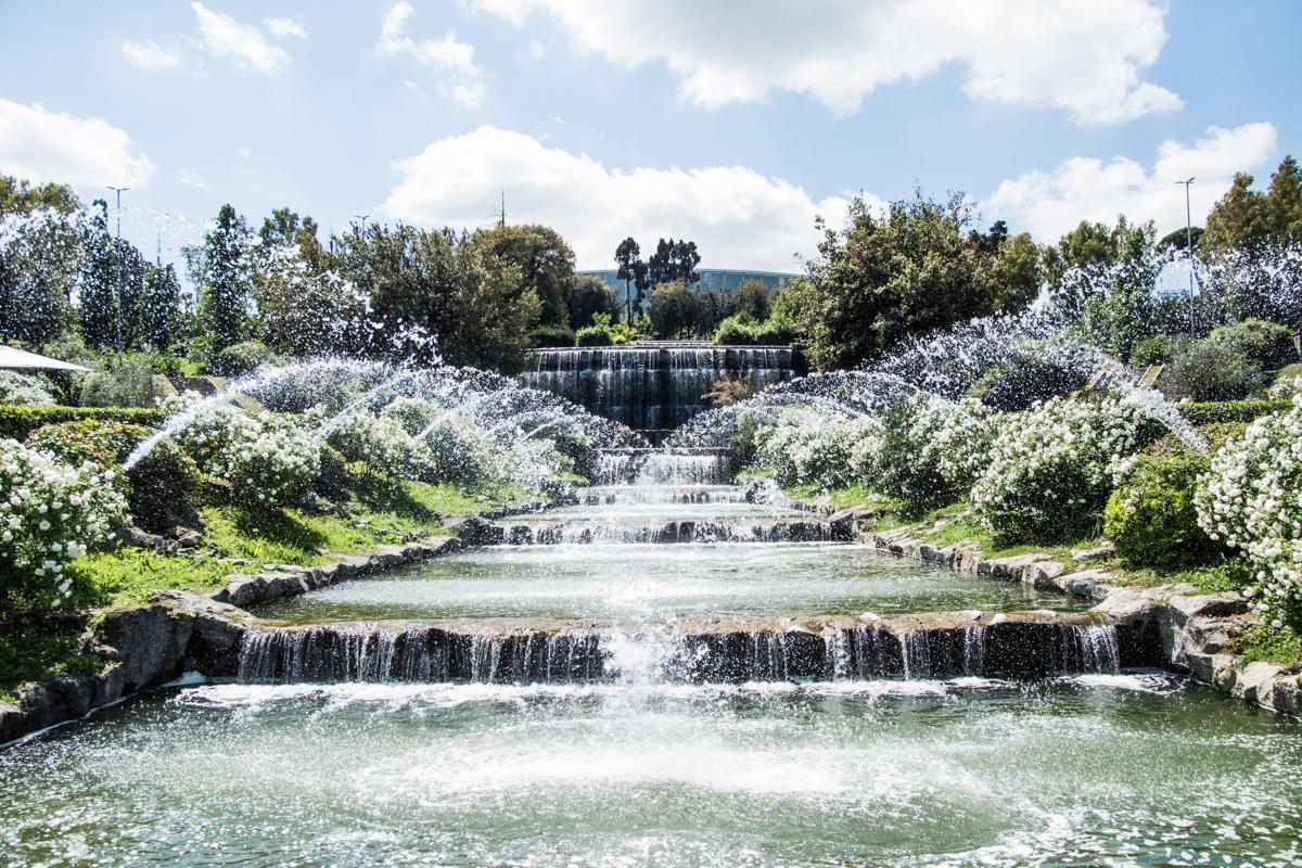 Eur diacetti dopo 56 anni riapre giardino delle cascate - Cascate per giardino ...
