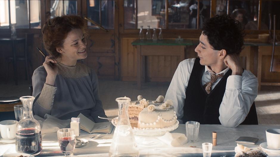 Una scena del film di apertura di Sotto le Stelle dell'Austria Egon Schiele: Tod und Machen
