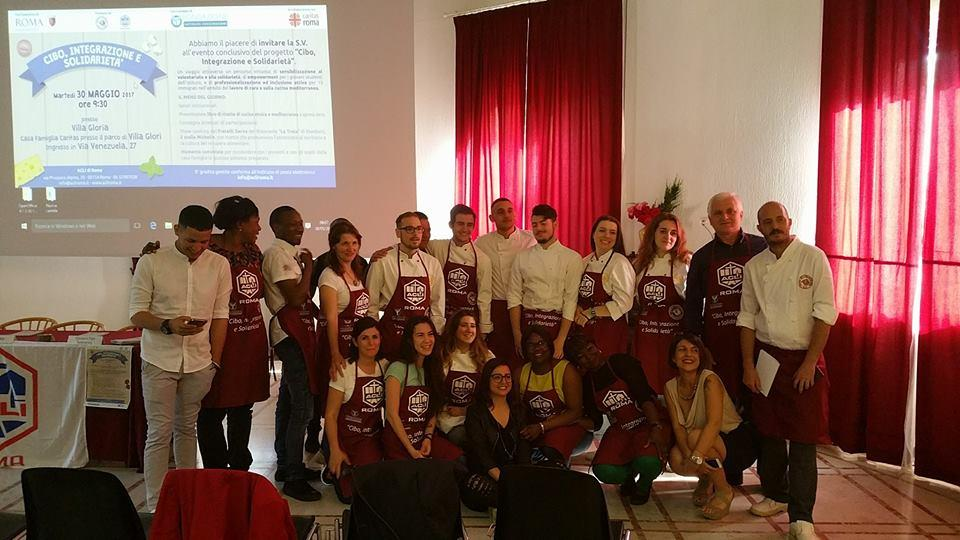 roma, immigrati a scuola di cucina per integrarsi - radio colonna - Scuola Di Cucina A Roma
