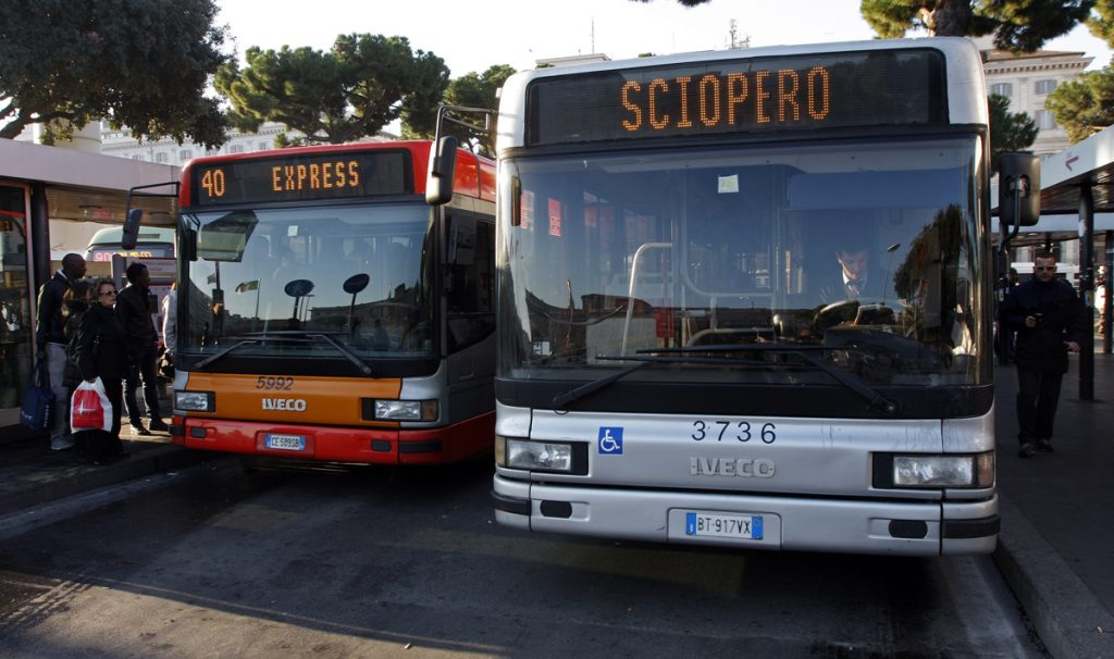 Trasporti, il 13 ottobre sciopero di 24 ore
