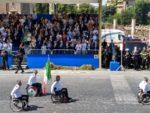 Le frecce tricolori e immagini della parata (foto di A. Ricca e G. Di Stefano)
