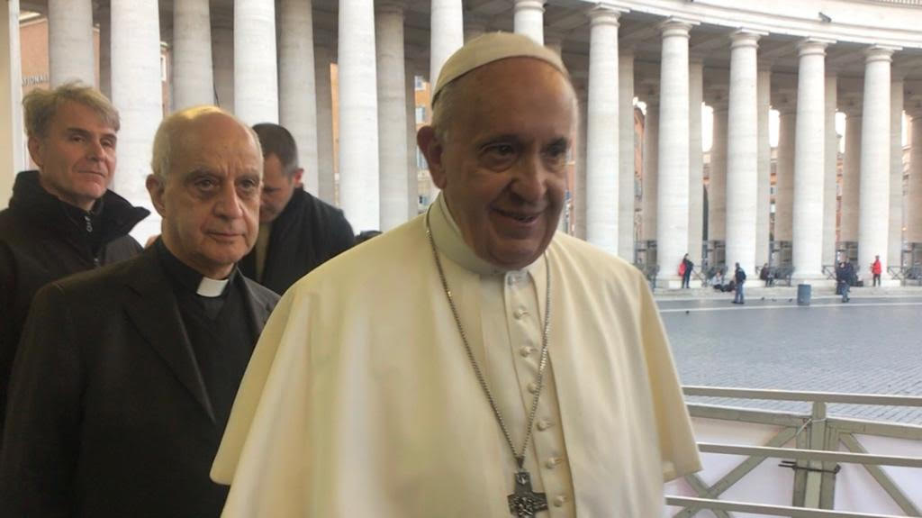 Il Papa dai malati Di Alzheimer