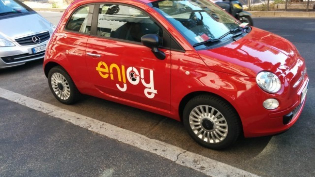 Car Sharing A Roma Enjoy Disposti A Espanderci In Periferia