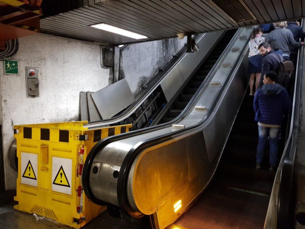 Metro A: scale mobili saranno ricostruite interamente
