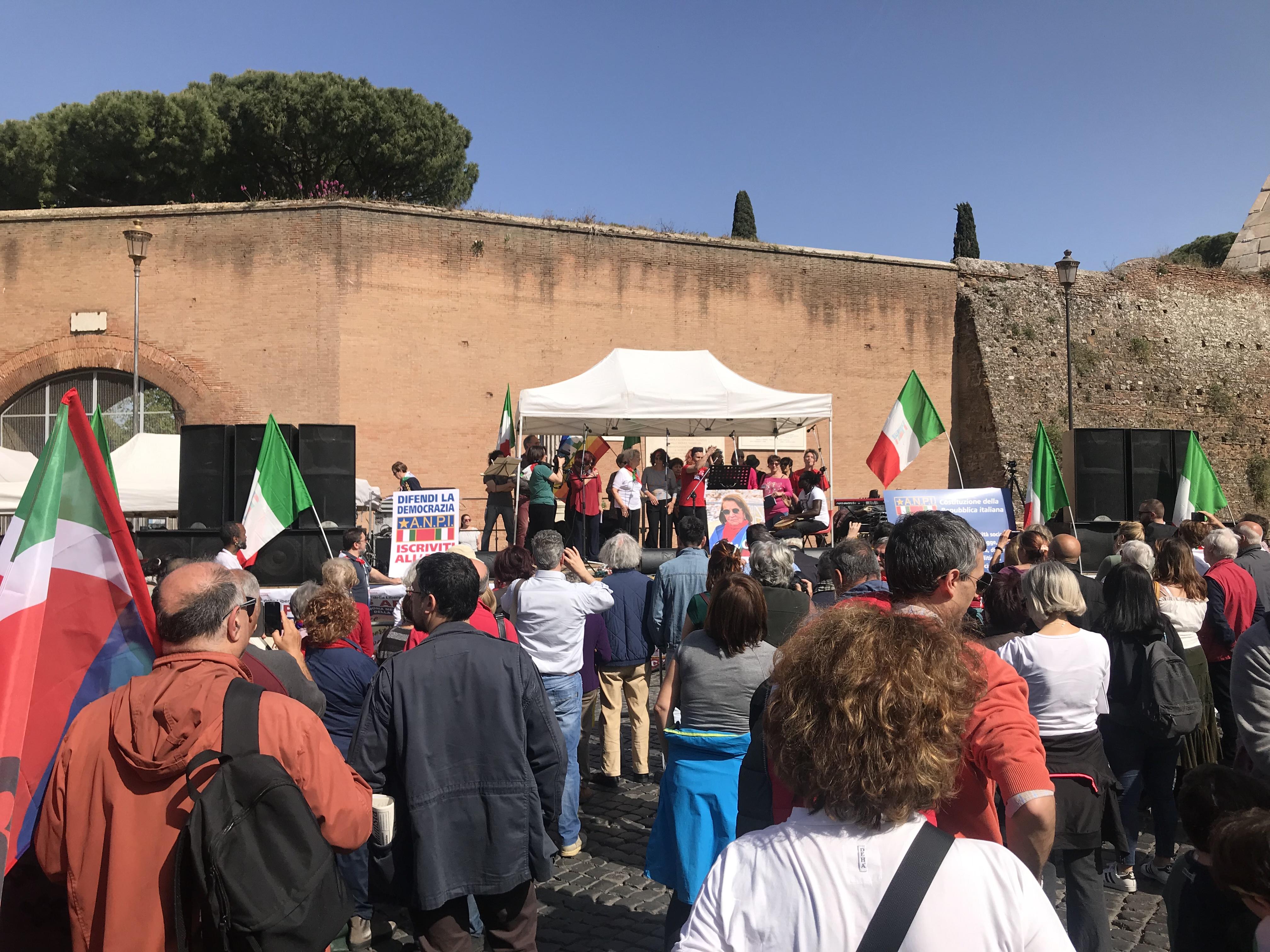 Roma ricorda il 25 aprile