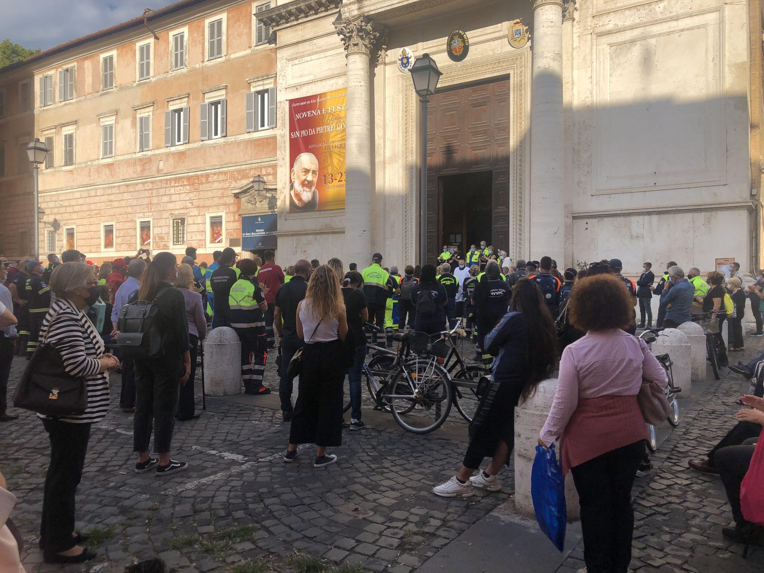 Protezione Civile a Roma