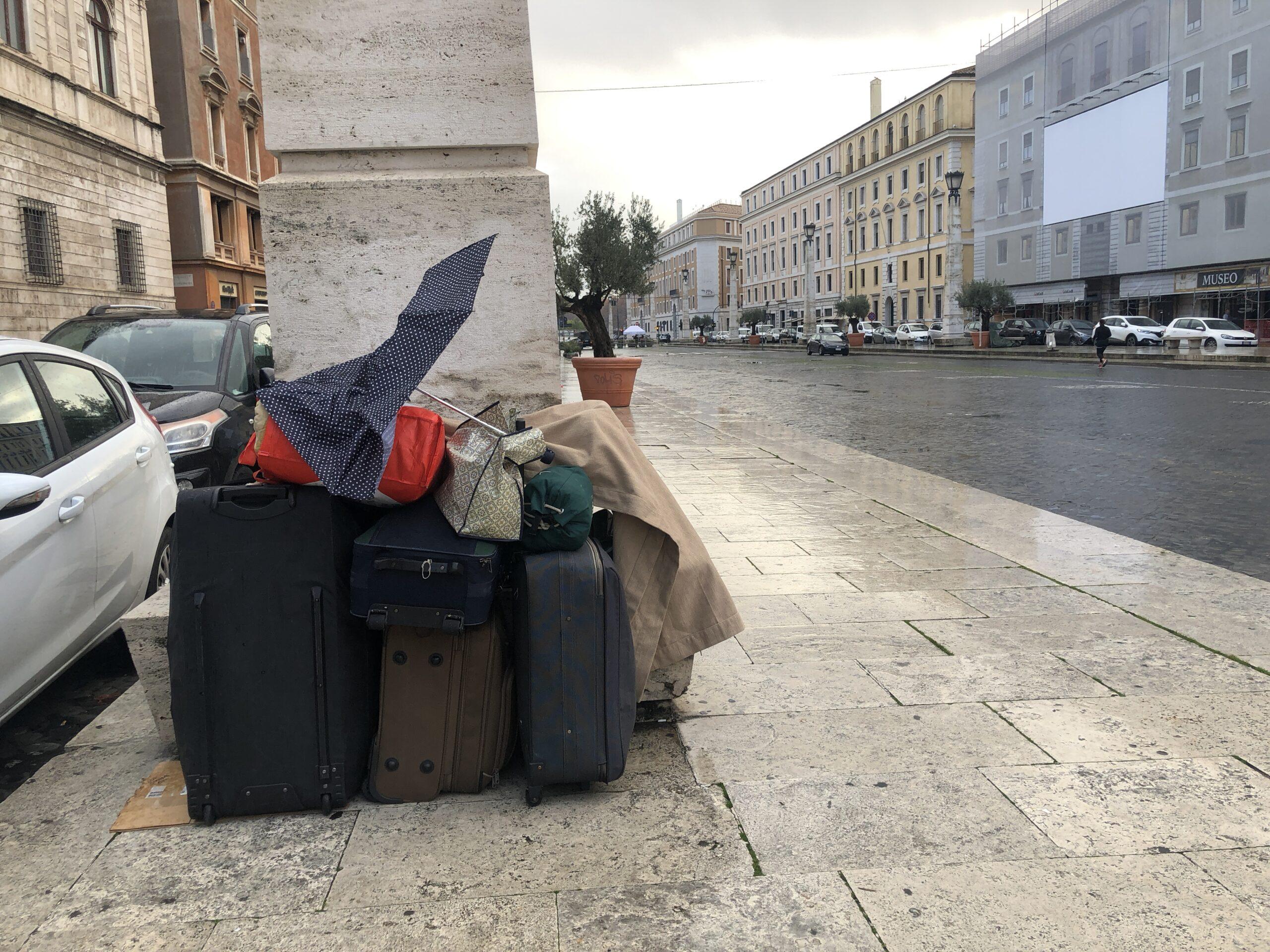 Senzatetto a Roma
