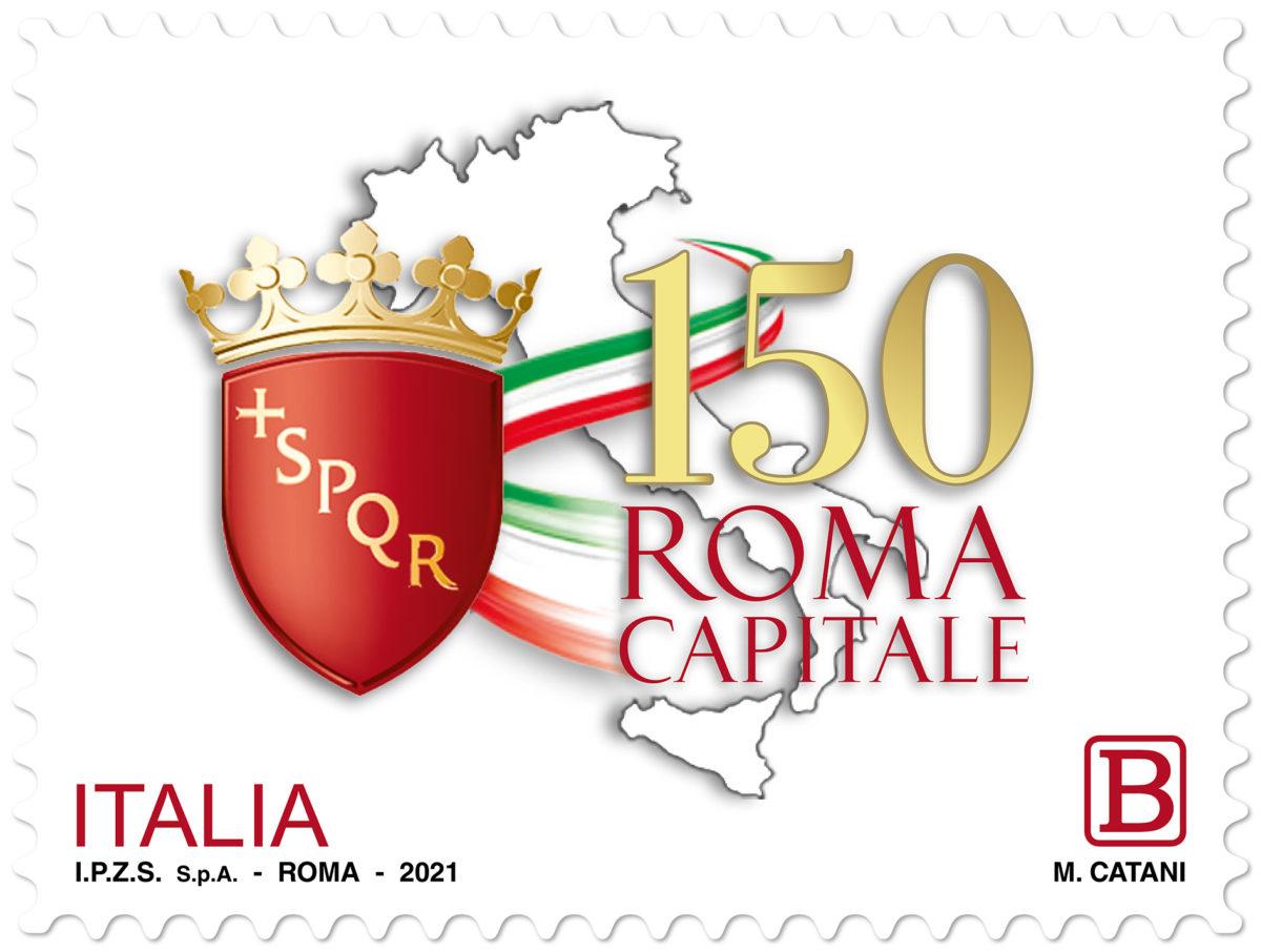 Francobollo Roma Capitale