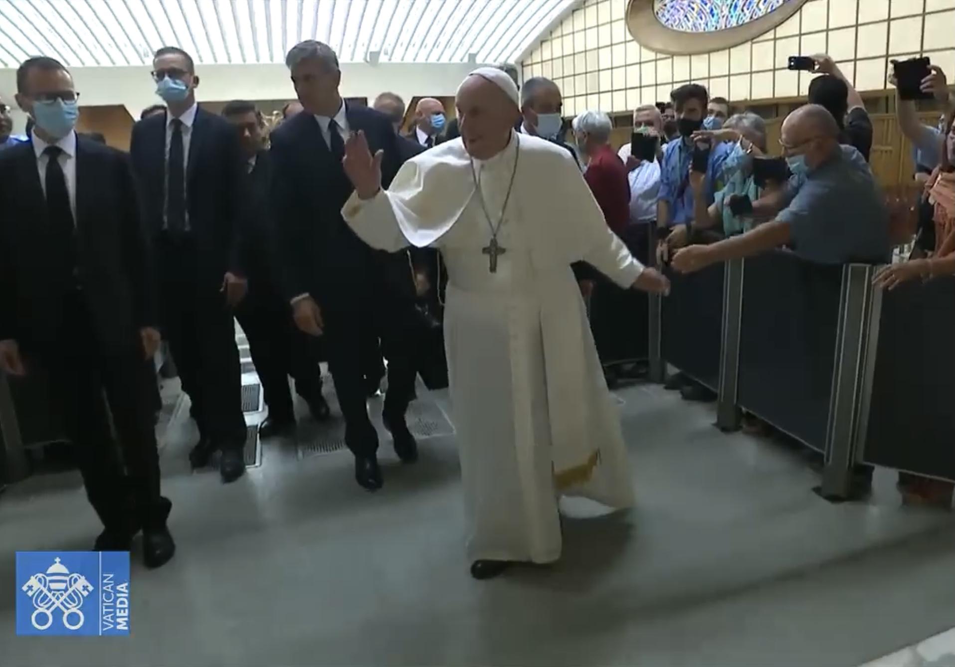 Papa Francesco con la diocesi di Roma