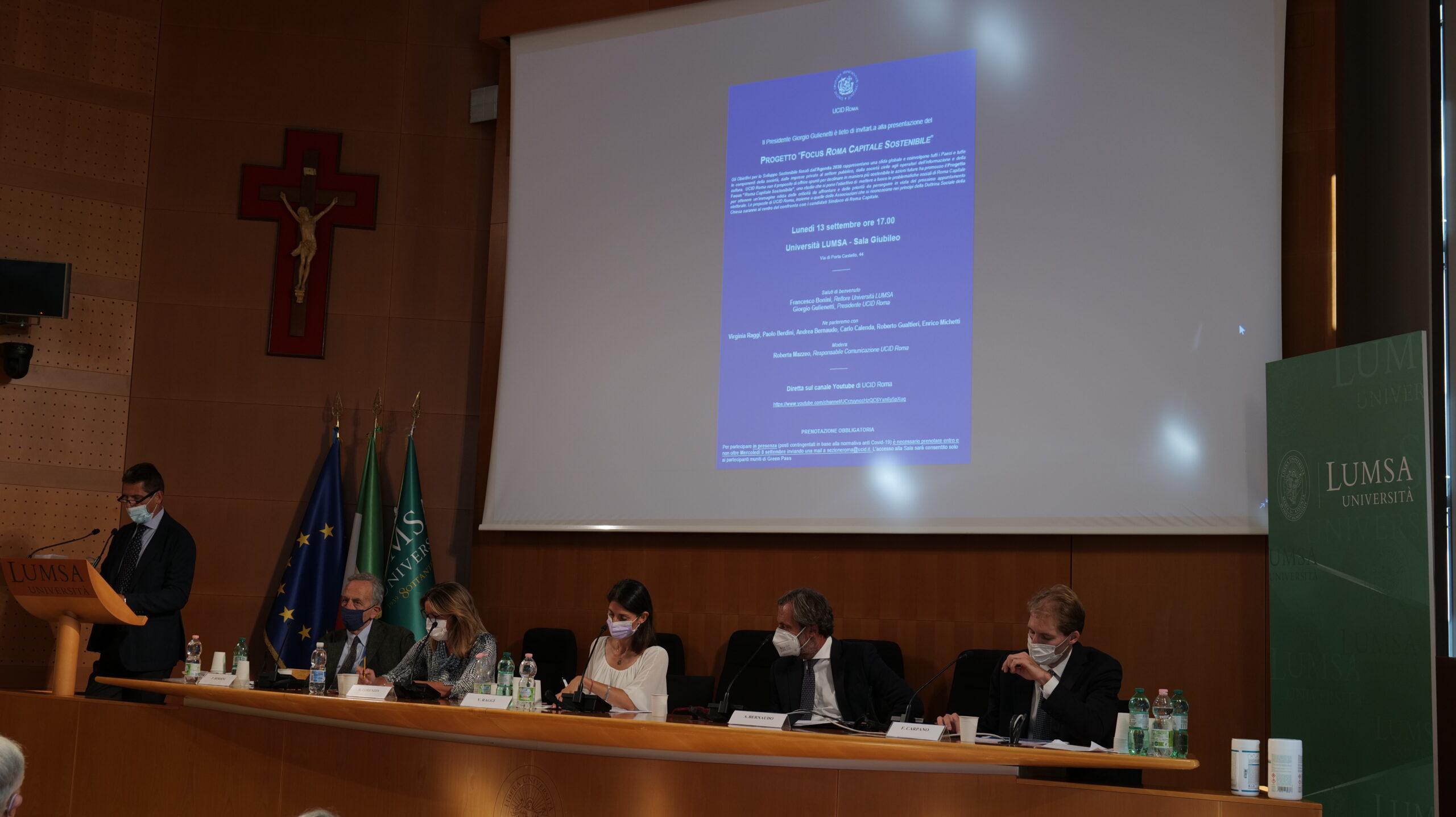 Il dibattito organizzato dall'Ucid alla Lumsa
